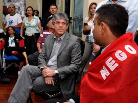 ricardo recebe atletas paraolimpicos foto francisco frança secom pb_0311