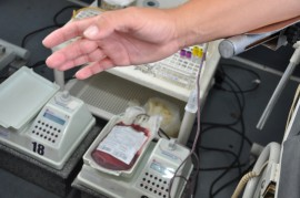 doacao de sangue no hospital de emergencia e trauma foto joao francisco 14 270x179 - Hospital Geral de Mamanguape realiza campanha de doação de sangue