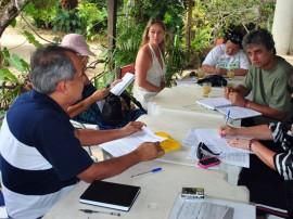 Sec. Walter Aguiar em reuniao em Tambaba com a comunidade local - Foto Aryma Aguiar (3)