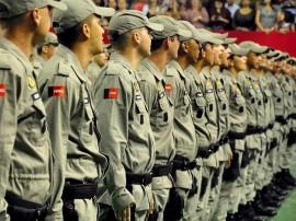 soldados da PM foto francisco frança secom pb 1 270x202 - Governo inicia curso de formação de 520 novos soldados da Polícia Militar