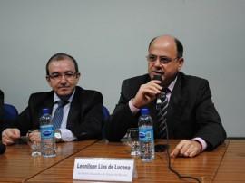 Secretário Executivo da Receita Leonilson Lins de Lucena na abertura do Seminário