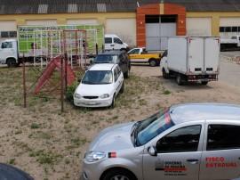 Apreensao do Fisco Estadual  no estacionamento do COP (1)