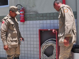 bombeiros realizam vistoria em hospitais foto jose lins 32