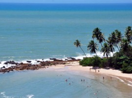 praia de coqueirinho turismo litoral