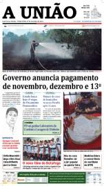 Capa A União 27-11-12