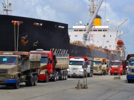 navio de carga porto de cabedelo docas foto claudio cesar 3