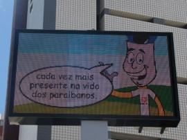 27.03.13 PBGÁS inaugura Painel de Led