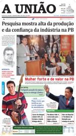 Capa A União 06-03-13