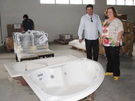 Fotos do Primeiro leilão da Receita Estadual banheira