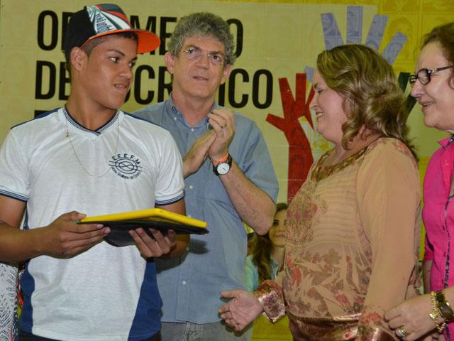 AFP 2516 - Ricardo anuncia casas e libera crédito em Audiência do ODE em Guarabira