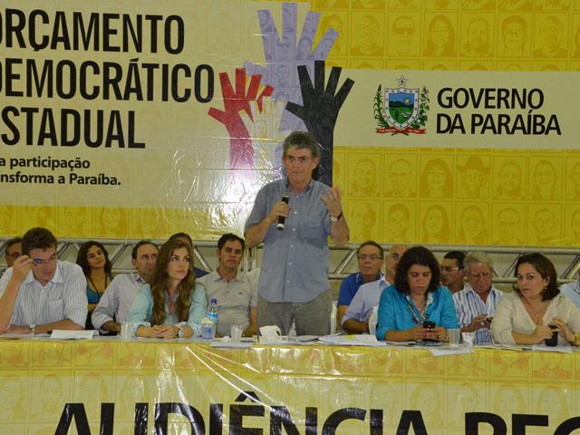 AFP 2648 - Ricardo anuncia casas e libera crédito em Audiência do ODE em Guarabira