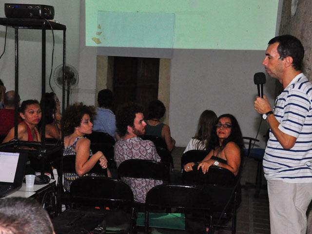 AMOSTRA DE DANCA 7 - Cearte realiza Mostra de Vídeodança no Mosteiro de São Bento