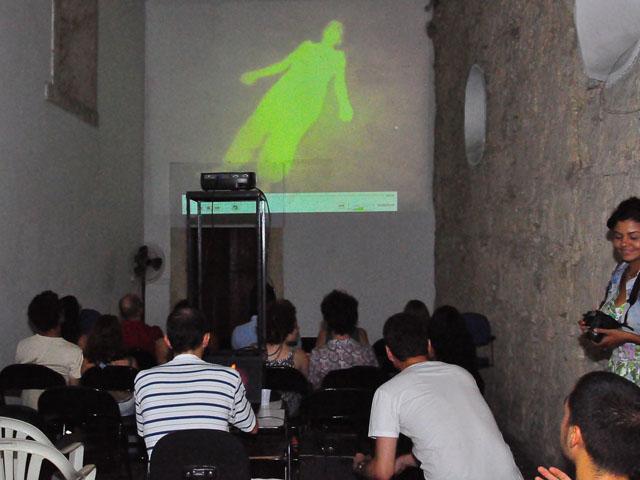 AMOSTRA DE DANCA 8 - Cearte realiza Mostra de Vídeodança no Mosteiro de São Bento