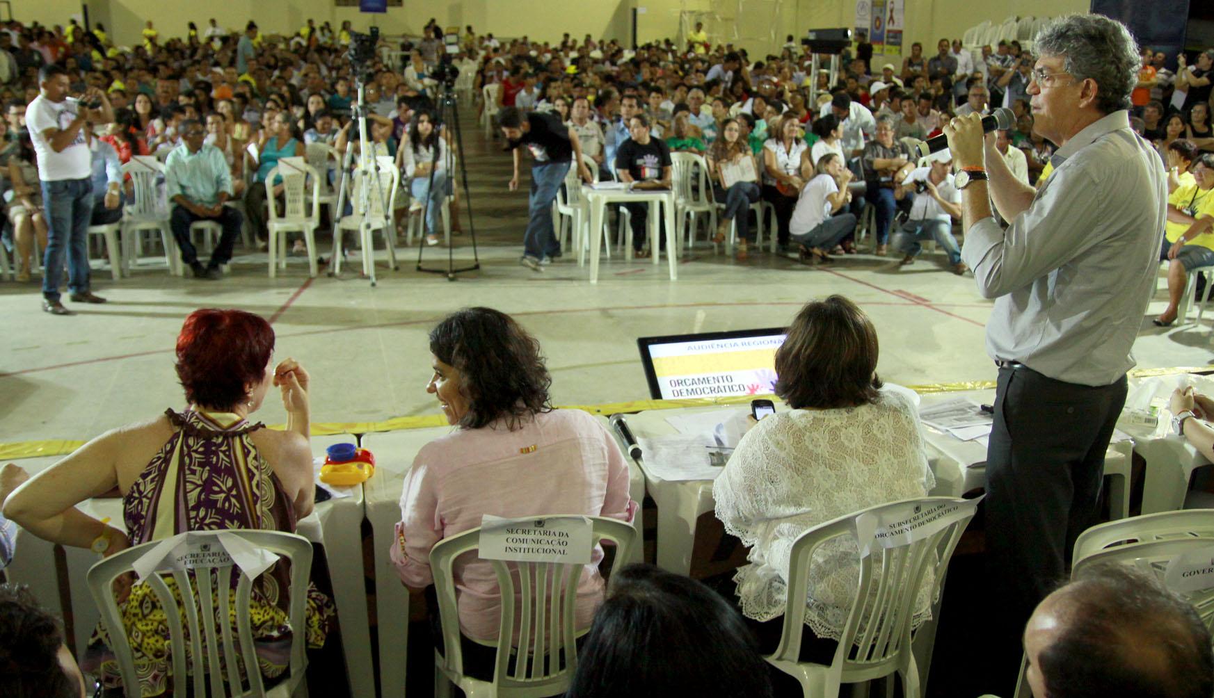 IMG 8540 - Ricardo autoriza obras para estrada e rede de abastecimento no ODE