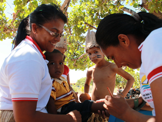 Vacinação Influenza Baía da Traição Ricardo Puppe 1 - Aberta Campanha de Vacinação contra Influenza para População Indígena