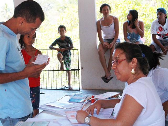 Vacinação Influenza Baía da Traição Ricardo Puppe 3 - Aberta Campanha de Vacinação contra Influenza para População Indígena