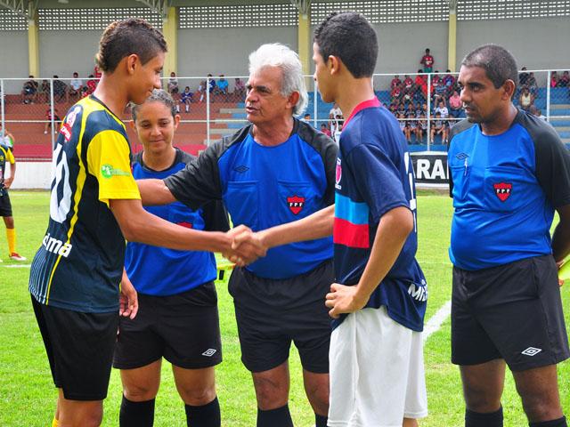 abertura jogos sub 15 foto kleide teixeira 02 - Copa Paraíba Sub 15 é aberta no Estádio da Graça