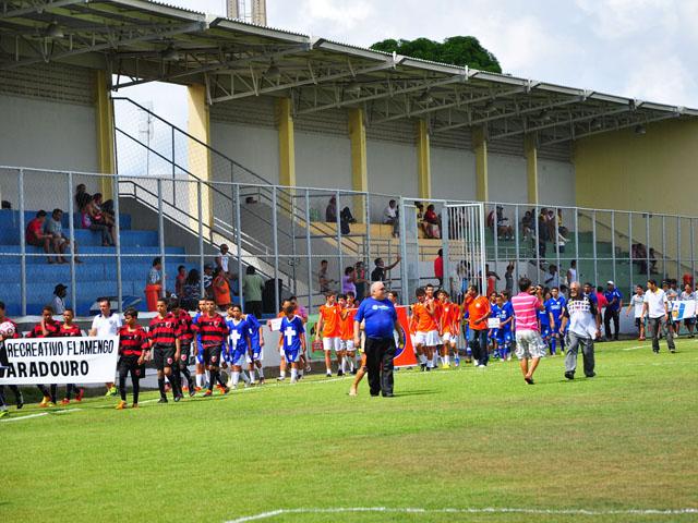 abertura jogos sub 15 foto kleide teixeira 07 - Copa Paraíba Sub 15 é aberta no Estádio da Graça