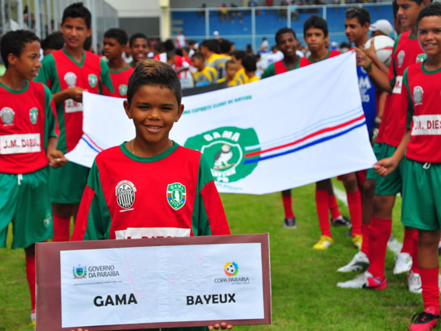 abertura jogos sub 15 foto kleide teixeira 08 - Copa Paraíba Sub 15 é aberta no Estádio da Graça