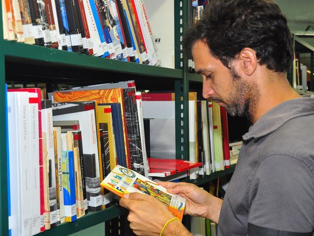 biblioteca publica da funesc foto roberto guedes 31 - Atividades educativas marcam Dia do Livro no Espaço Cultural