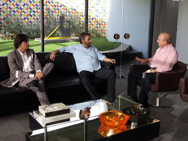 carlos antonio recebe presidente d FIEP foto xico morais 4 - Governo e Fiep discutem implantação da Região Metropolitana de Campina Grande