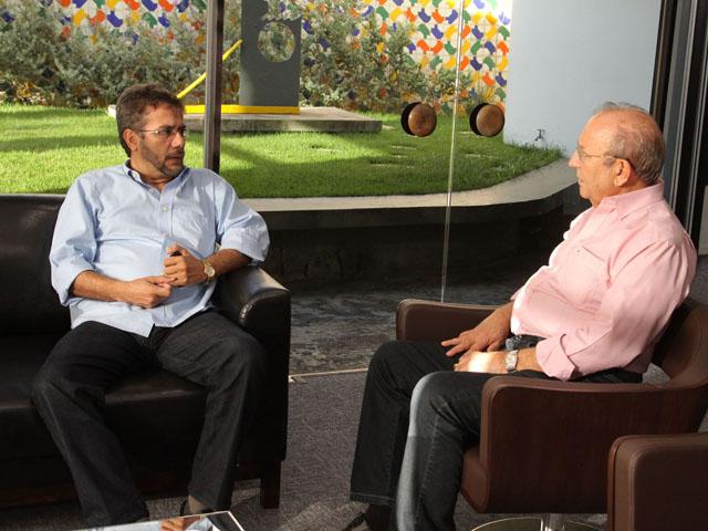 carlos antonio recebe presidente d FIEP foto xico morais 6 - Governo e Fiep discutem implantação da Região Metropolitana de Campina Grande