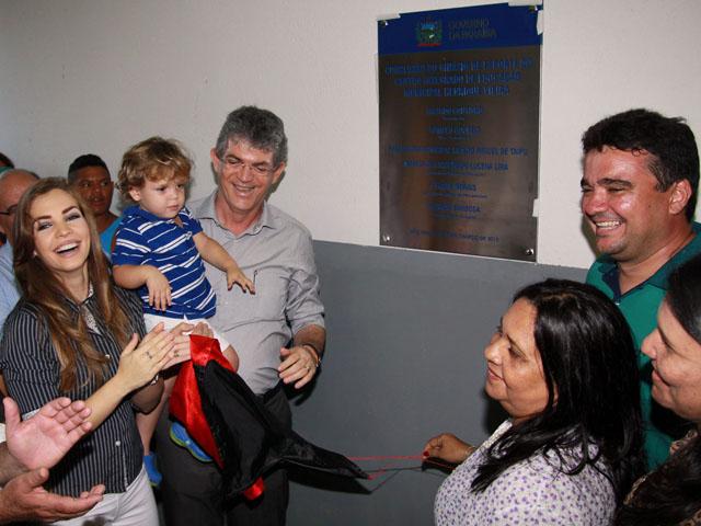 ginasio em sao miguel de taipu foto francisco frança 3 - Governo inaugura primeiro ginásio esportivo de São Miguel de Taipu