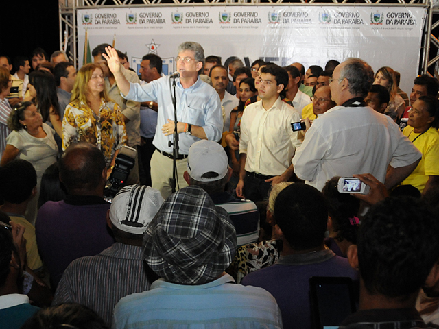 mataraca - Ricardo autoriza estrada de Mataraca a Barra de Camaratuba