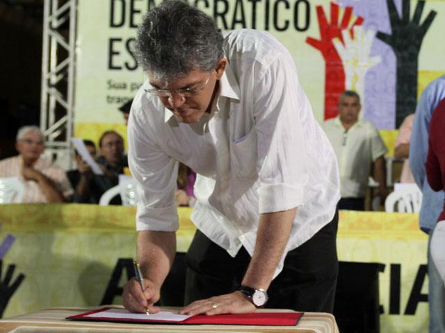 ode de picui foto francisco frança 1 - Governador inaugura estrada e autoriza obras na plenária do ODE em Picuí