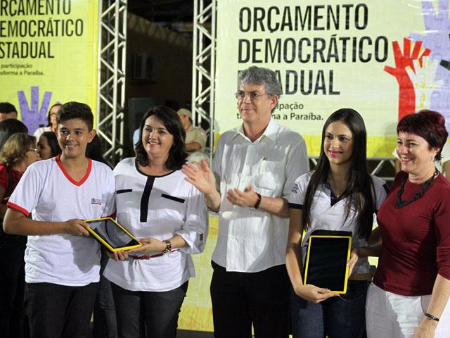 ode de picui foto francisco frança 3 - Governador inaugura estrada e autoriza obras na plenária do ODE em Picuí