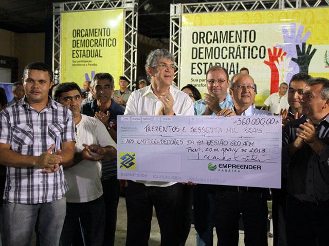 ode de picui foto francisco frança 5 - Governador inaugura estrada e autoriza obras na plenária do ODE em Picuí