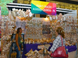 primeira dama feira internacional artesanato fotos alberi pontes 7 270x202 - Artesãos paraibanos expõem peças em Feira Internacional de Negócios