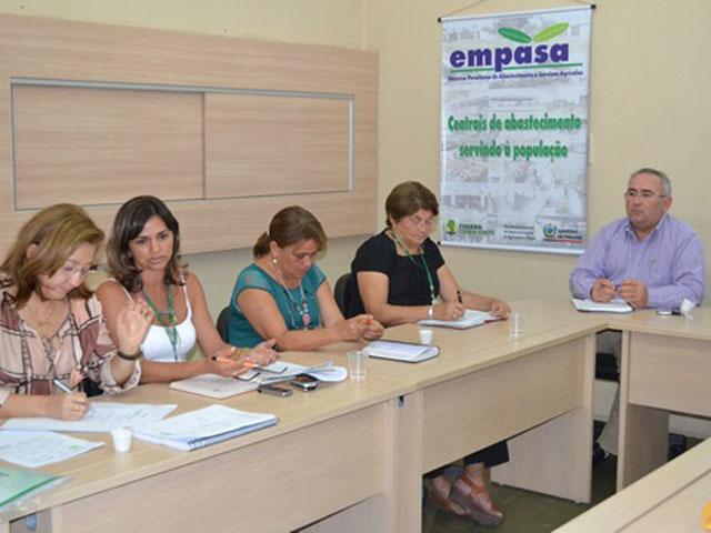 reu58 - Empasa vai elaborar diagnóstico de suas ações