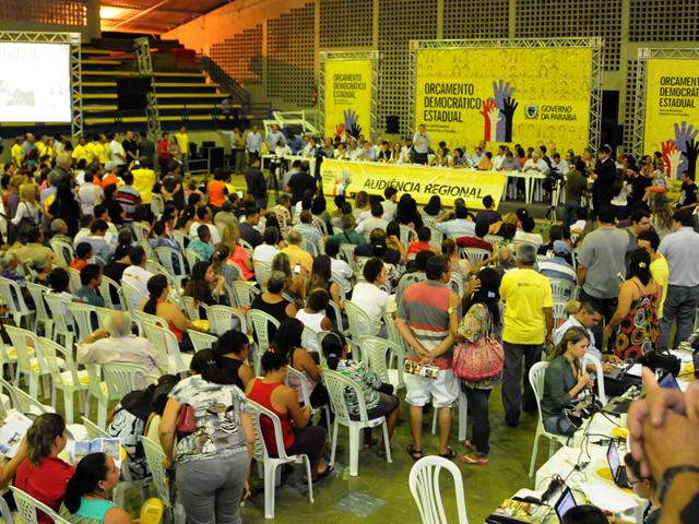ricardo Orcamento Democratico JOÃO PESSOA foto jose marques 2 - Ricardo autoriza R$ 124 milhões em obras na abertura do ODE 2013