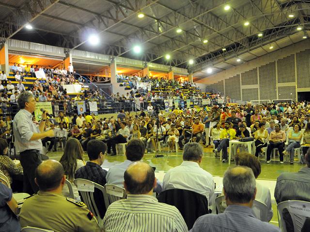 ricardo Orcamento Democratico JOÃO PESSOA foto jose marques - Ricardo autoriza R$ 124 milhões em obras na abertura do ODE 2013