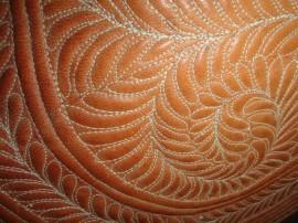 artesão de couro 3 270x202 - Artigos em couro ganham destaque no Salão do Artesanato da Paraíba