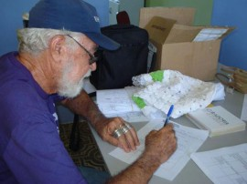 cadastramento artesao 2 270x202 - Governo realiza cadastramento de artesãos no Cariri Paraibano