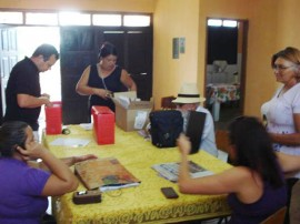 cadastramento artesao1 270x202 - Governo realiza cadastramento de artesãos no Cariri Paraibano