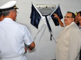 romuo assina convenio com a marinha foto  270x202 - Governo firma parceria para utilizar instalações da Capitania dos Portos