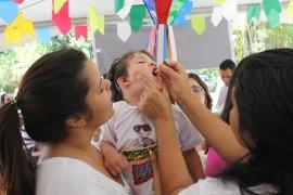 Campanha de vacinação contra Pólio Bica Foto Ricardo Puppe 4 270x180 - Programação especial anima Dia D da campanha contra a pólio