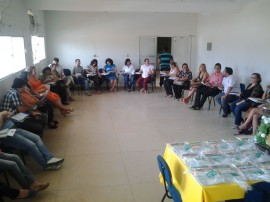 Reunião com secretários de Saúde da 4ª Região Cuité 270x202 - Agevisa prevê ampliação de 700% no número de municípios pactuados nas ações de Vigilância Sanitária