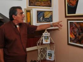 artesanato calberto falci pintura de quadro com tela de couro foto walter rafael 18 270x202 - 18º Salão de Artesanato movimenta Campina Grande