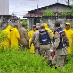 defesa civil bombeiros especionam areas de risco timbo foto kleide teixeira 166