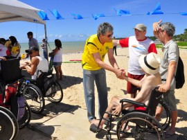 ricardo prestigia atividades do acesso cidadao no cabo branco foto walter rafael 33 270x202 - Ricardo participa de Forró Acessível na praia de Cabo Branco