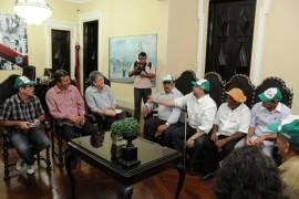 25.07.13 ricardo reuniao fetag 1 270x180 - Ricardo recebe trabalhadores rurais e garante manter investimentos
