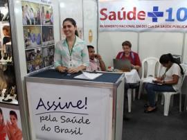 Stand Brasil Mostra Brasil saúde+10 FOTO Ricardo Puppe1 270x202 - Paraíba coleta assinaturas para o Movimento Nacional Saúde +10