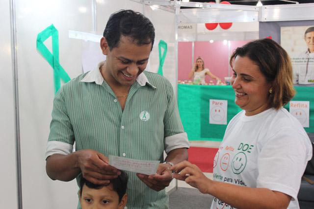 central portal4 - Central de Transplantes faz campanha por doação de órgãos, na BMB