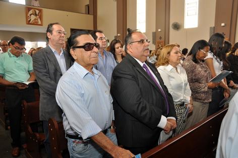 missa ronaldo2 - Rômulo participa de missa em memória do ex-governador Ronaldo Cunha Lima