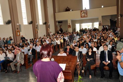 missa ronaldo3 - Rômulo participa de missa em memória do ex-governador Ronaldo Cunha Lima