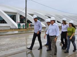 obras do centro de convecoes visita tecnica foto jose lins 168 270x202 - Governo realiza acabamento da segunda etapa do Centro de Convenções